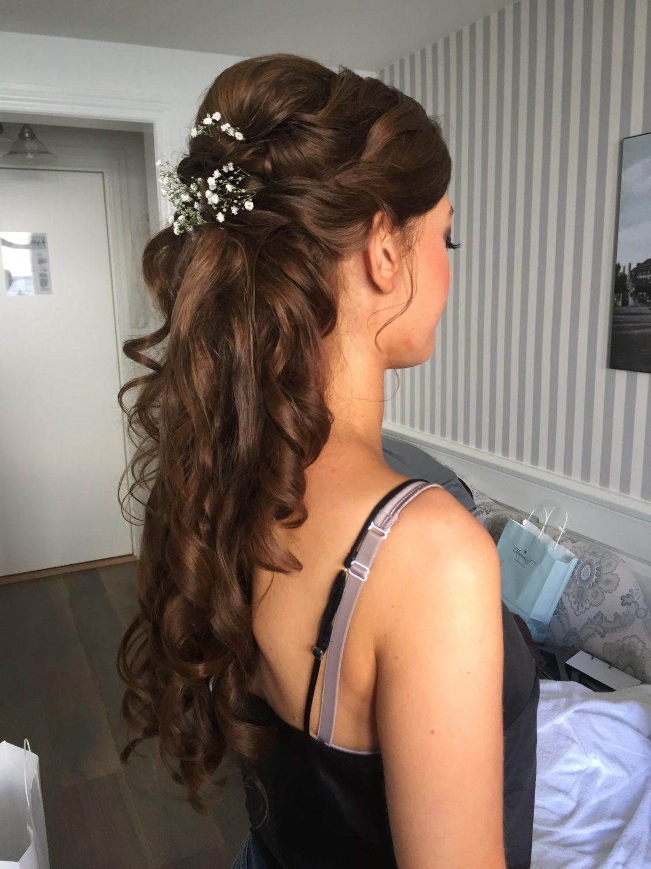 hår og makeup bryllup pris